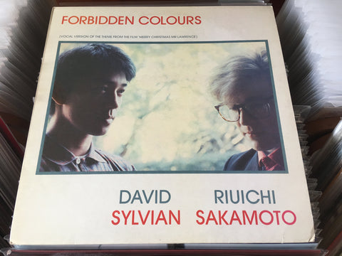 "Ryuichi Sakamoto / 坂本龍一 - Forbidden Colours 12"" Single 45rpm (Out Of Print) (Graded:NM/NM)"