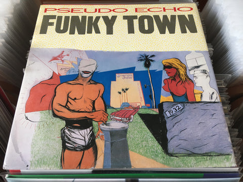 "Pseudo Echo - Funky Town 12"" Single 45rpm (Out Of Print) (Graded:NM/EX)"