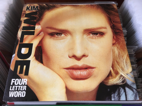 "Kim Wilde - Four Letter Word 12"" Single 45rpm (Out Of Print) (Graded:NM/NM)"
