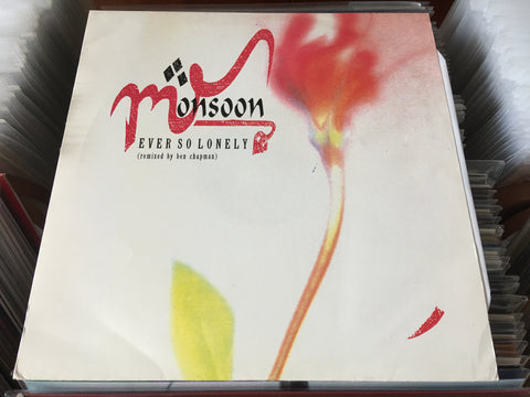 "Monsoon - Ever So Lonely (Remixed By Ben Chapman) 12"" Single 45rpm (Out Of Print) (Graded:NM/EX)"
