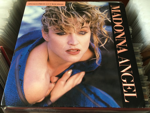 "Madonna - Angel 12"" Maxi-Single 45rpm (Out Of Print) (Graded:NM/EX)"