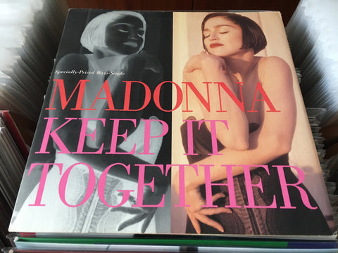 "Madonna ‎– Keep It Together 12"" Maxi-Single 33⅓rpm (Out Of Print) (Graded:NM/NM)"