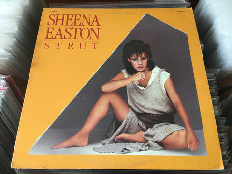 "Sheena Easton - Strut 12"" Single 33⅓rpm (Out Of Print) (Graded:EX/EX)"