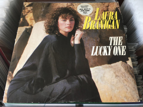 "Laura Branigan - The Lucky One 12"" Single 45rpm (Out Of Print) (Graded:EX/VG)"