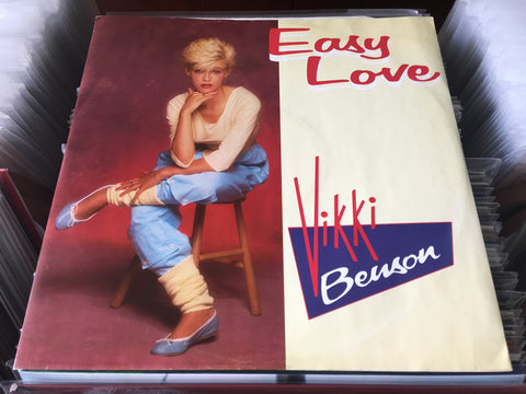 "Vikki Benson - Easy Love 12"" Single 45rpm (Out Of Print) (Graded:NM/NM)"