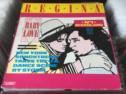 "Regina - Baby Love 12"" Maxi-Single 45rpm (Out Of Print) (Graded:EX/EX)"