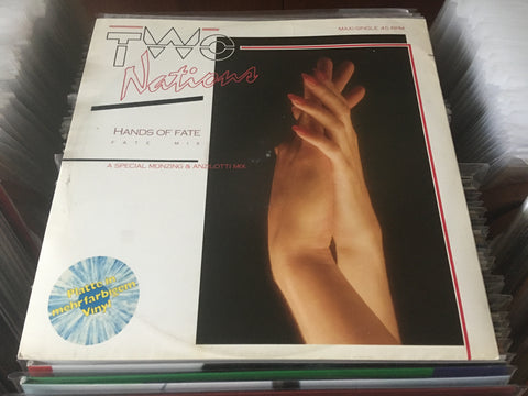 "Two Nations - Hands Of Fate 12"" Maxi-Single 45rpm (Out Of Print) (Graded:EX/EX)"