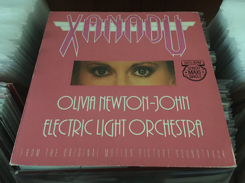 "Olivia Newton-John & Electric Light Orchestra - Xanadu 12"" Maxi-Single 33⅓rpm (Out Of Print) (Graded:EX/EX)"