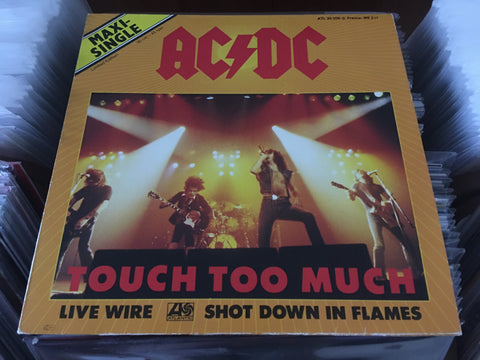 "AC/DC - Touch Too Much 12"" Maxi-Single 45rpm (Out Of Print) (Graded:NM/NM)"