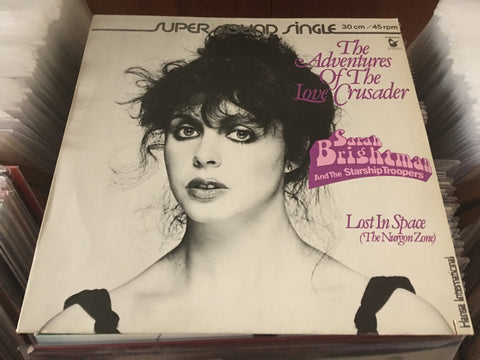 "Sarah Brightman - The Adventures Of The Love Crusader 12"" Single 45rpm (Out Of Print) (Graded:NM/EX)"