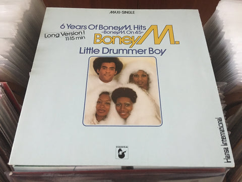 "Boney M. - 6 Years Of Boney M. Hits 12"" Maxi-Single 45rpm (Out Of Print) (Graded:NM/EX)"