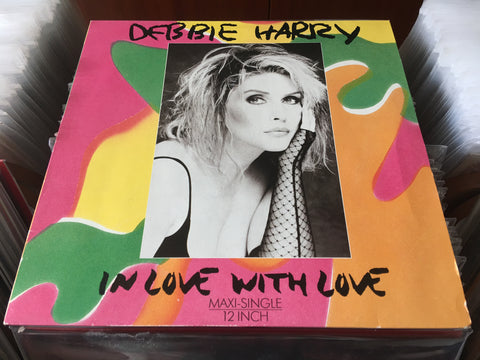 "Debbie Harry - In Love With Love 12"" Maxi-Single 45rpm (Out Of Print) (Graded:NM/EX)"