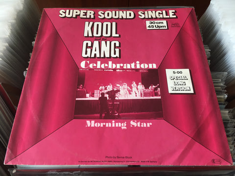 "Kool & The Gang - Celebration / Morning Star 12"" Single 45rpm (Out Of Print) (Graded:NM/EX)"