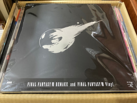 FINAL FANTASY VII REMAKE and FINAL FANTASY VII 2 Picture LP 33⅓rpm (完全生産限定盤)