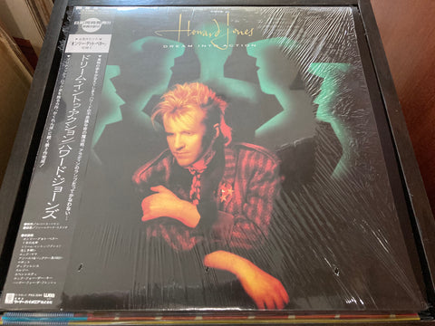 Howard Jones - Dream Into Action CW/OBI LP 33⅓rpm (Out Of Print) (Graded:NM/NM)
