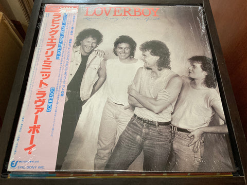 Loverboy - Lovin' Every Minute Of It CW/OBI LP 33⅓rpm (Out Of Print) (Graded:NM/NM)