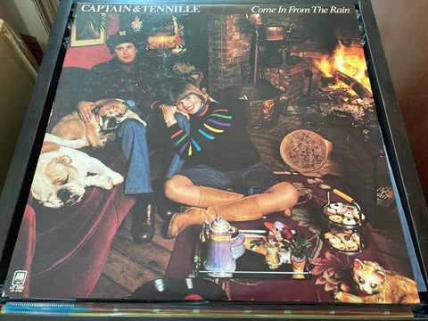 Captain And Tennille - Come In From The Rain LP 33⅓rpm (Out Of Print) (Graded:NM/NM)