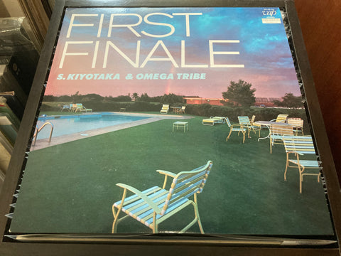 S. Kiyotaka & Omega Tribe - First Finale LP 33⅓rpm (Out Of Print) (Graded:NM/EX)