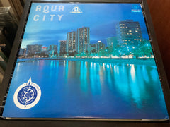 S. Kiyotaka & Omega Tribe - Aqua City LP 33⅓rpm (Out Of Print) (Graded:NM/EX)