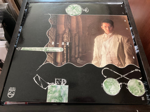 Alan Tam / 譚詠麟 - 第一滴淚 CW/Lyrics LP 33⅓rpm (Out Of Print) (Graded: NM/NM)