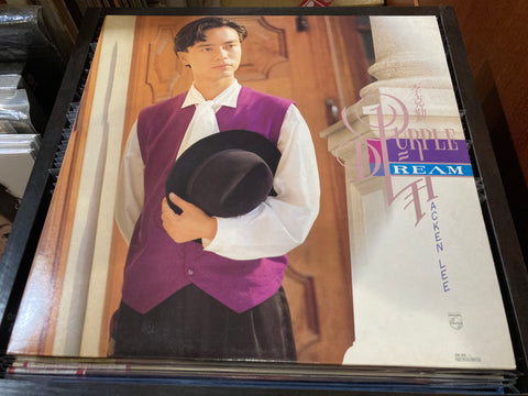 Hacken Lee / 李克勤 - PURPLE DREAM CW/Lyrics LP 33⅓rpm (Out Of Print) (Graded: NM/EX)