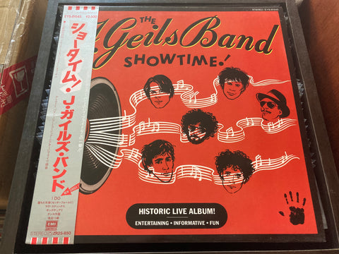 The J. Geils Band - Showtime! CW/OBI LP 33⅓rpm (Out Of Print) (Graded: NM/EX)