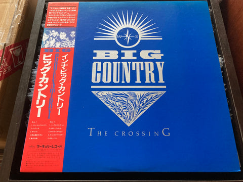 Big Country - The Crossing CW/OBI LP 33⅓rpm (Out Of Print) (Graded: NM/NM)