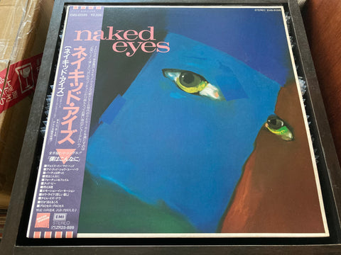 Naked Eyes - Burning Bridges CW/OBI LP 33⅓rpm (Out Of Print) (Graded: NM/NM)