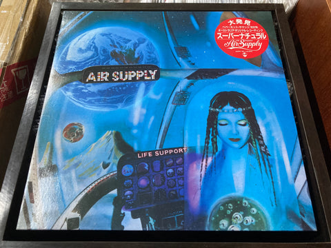 Air Supply - Life Support LP 33⅓rpm (Out Of Print) (Graded: NM/NM)
