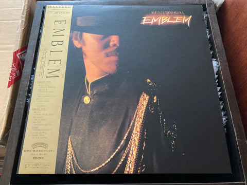 Shinji Tanimura / 谷村新司 - Emblem CW/OBI LP 33⅓rpm (Out Of Print) (Graded:NM/NM)