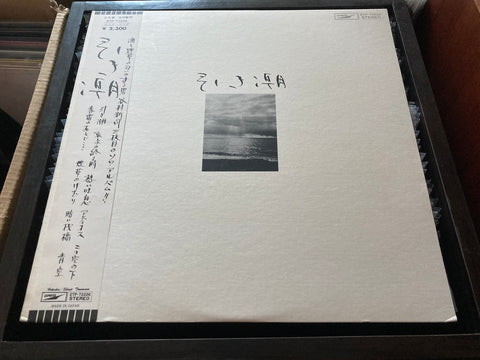 Shinji Tanimura / 谷村新司 - 引き潮 CW/OBI LP 33⅓rpm (Out Of Print) (Graded: NM/NM)