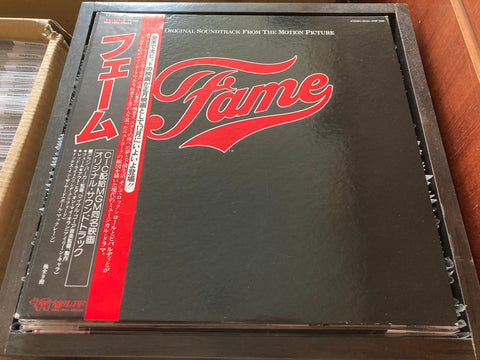 OST - Fame CW/OBI LP 33⅓rpm (Out Of Print) (Graded: EX/NM)