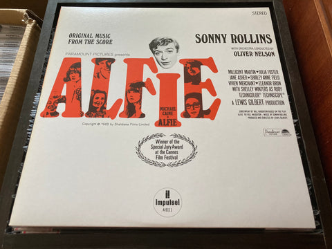 OST - Alfie LP 33⅓rpm (Out Of Print) (Graded: NM/NM)