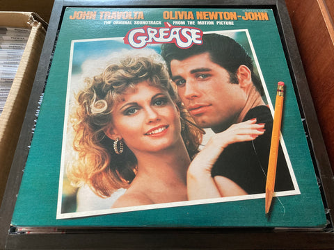 OST - Grease 2LP 33⅓rpm (Out Of Print) (Graded: EX/NM)