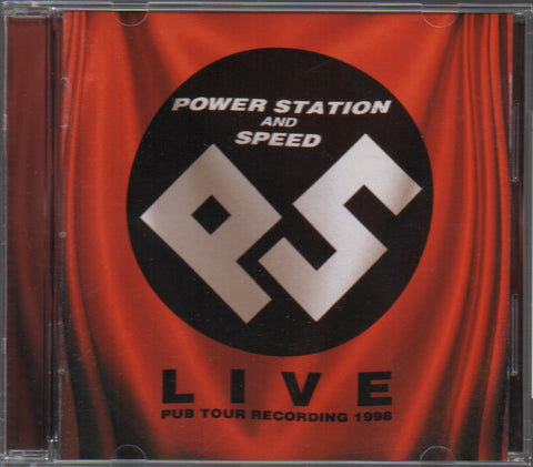 Power Station / 動力火車 - 暴風現場 1998 (Out Of Print) (Graded:NM/NM)