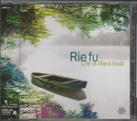 Rie Fu - Life is like a boat Single CW/OBI (Out Of Print) (Graded:NM/NM)
