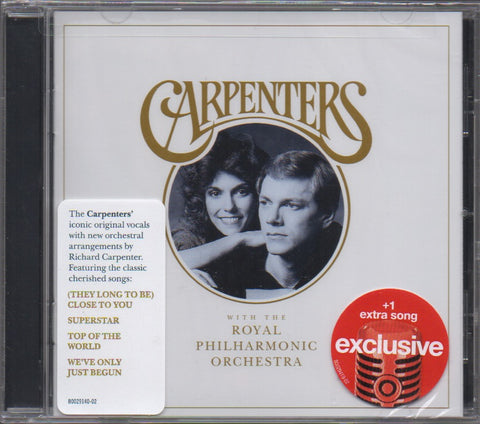 Carpenters - CARPENTERS WITH THE ROYAL PHILHARMONIC ORCHESTRA CW/Extra Song