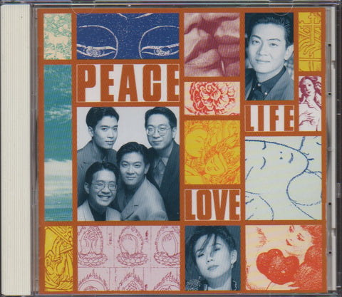 Dick Lee / 李迪文 - Peace Life Love (Out Of Print) (Graded:NM/NM)