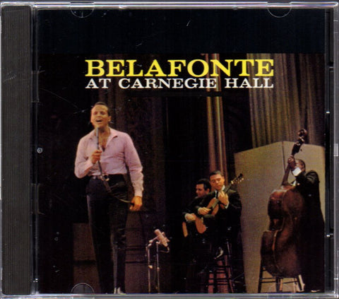 Harry Belafonte - Belafonte At Carnegie Hall (Out Of Print) (Graded:NM/EX)