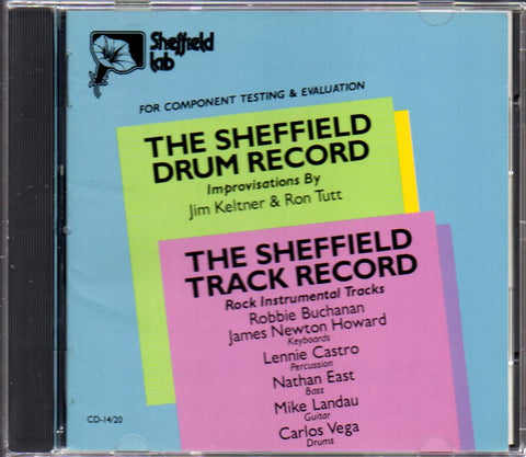 Sheffield Lab - THE SHEFFIELD DRUM/TRACK RECORD (Out Of Print) (Graded:NM/NM)