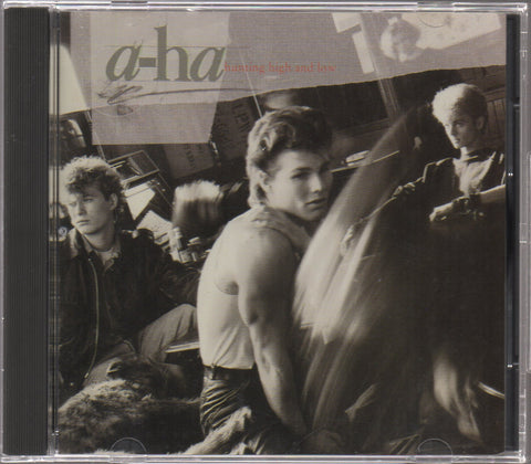 a-ha - Hunting High And Low (Out Of Print) (Graded:EX/EX)