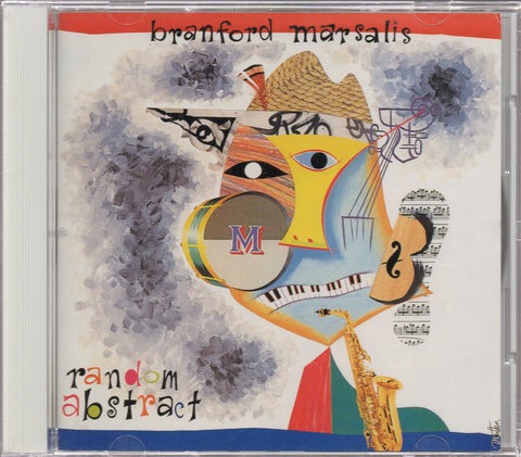 Branford Marsalis - Random Abstract Sample (Out Of Print) (Graded:EX/VG)