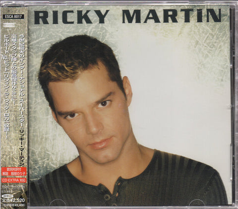 Ricky Martin - Ricky Martin CW/OBI (Out Of Print) (Graded:NM/EX)