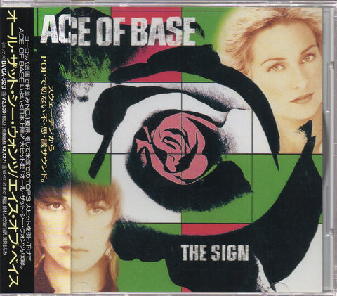 Ace Of Base - The Sign CW/OBI Sample (Out Of Print) (Graded:NM/NM)
