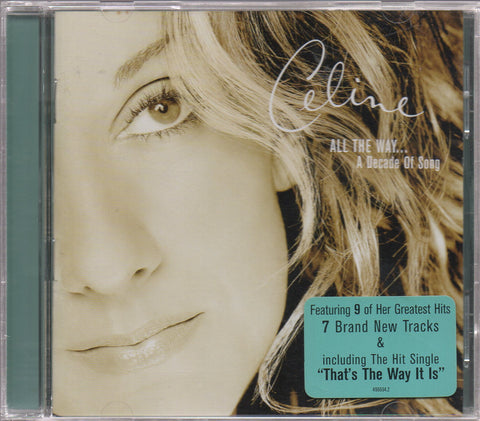 Céline Dion - All The Way... A Decade Of Song (Out Of Print) (Graded:NM/EX)