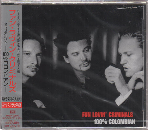 Fun Lovin' Criminals - 100% Colombian Sample (Out Of Print) (Graded:S/S)