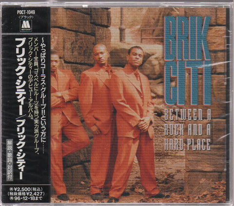 Brik Citi - Between A Rock And A Hard Place CW/OBI Sample (Out Of Print) (Graded:S/S)