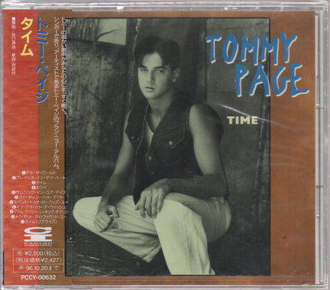 Tommy Page - Time Sample (Out Of Print) (Graded:S/S)