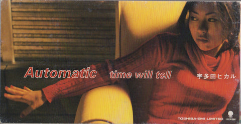 Utada Hikaru / 宇多田光 - Automatic / time will tell 3inch Single (Out Of Print) (Graded:EX/EX)