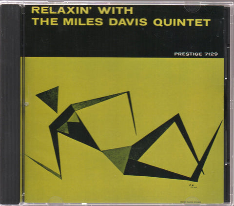 The Miles Davis Quintet - Relaxin' With The Miles Davis Quintet (Out Of Print) (Graded:NM/NM)